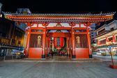 Kaminarimon Gate at Sensoji Temple in Tokyo — Stock Photo