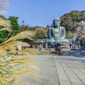Daibucu - velký buddha v kamakura — Stock fotografie