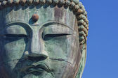 Daibutsu - The Great Buddha of Kotokuin Temple in Kamakura — Stock Photo