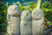 Nagomi Jizo At Hase-dera Temple in Kamakura — Stock Photo