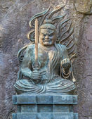 Fudo Myoo - the Five Wisdom Kings of the Womb Realm at Hase-dera Temple in Kamakura — Foto de Stock