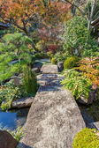 Japanese Garden at Hasedera Temple in Kamakura — Stock Photo