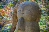 Nagomi Jizo At Hase-dera Temple in Kamakura — Stock Photo