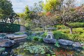 Japanese Garden at Hasedera Temple in Kamakura — Stock Photo