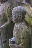 Small Jizo Statues at Hase-dera Temple in Kamakura — Foto de Stock