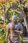 Komokuten- the West guardian ofthe Buddha at Hase-dera Temple in Kamakura — Stock Photo