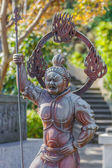 Zochoten- the South guardian of the Buddha at Hase-dera Temple in Kamakura — Stock Photo