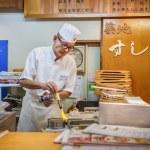 Japanese Sushi Chef — Stock Photo #47072959