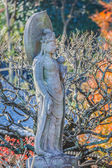 Kannon Bodhisattva - Lord of Compassion at Haseder Temple in Kamakura — Stock Photo