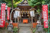 Hanazono Inari Shrine at Ueno Park in Tokyo — Foto de Stock