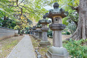 Toshogu Shrine at Ueno Park in Tokyo — Stock Photo