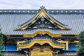 Toshogu Shrine under maintainance at Ueno Park in Tokyo — Stock Photo