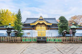Toshogu Shrine under maintainance at Ueno Park in Tokyo — Stock Photo