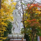 Chinese Goddess At Zojoji Temple in Tokyo — Stock Photo