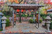 Jizo Statues for the unborn children at Zojoji Temple in Tokyo — Stock Photo