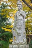 Kinesiska gudinnan på zojoji temple i tokyo — Stockfoto