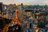View of Tokyo City from Tokyo Tower — Stockfoto