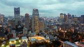 Vista desde la torre de Tokio en Tokio, Japón — Foto de Stock
