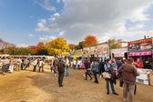 Meiji Shrine Autumn Fair in Tokyo — Stock Photo