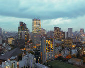 View from Tokyo Tower in Tokyo — Stock Photo