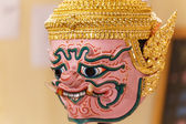 Hua khon (masque traditionnel thaïlandais) — Photo