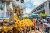 The Erawan Shrine in Bangkok — Stock Photo
