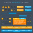 Royalty-Free Stock Imagen vectorial: Set of vector ui
