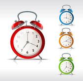 Vektör çalar saatler — Stok Vektör