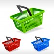 Vector shopping basket — Stock vektor