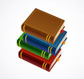 Books stack icon. Vector Illustration — Vecteur