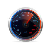 Speedometer, vector. — Stock Vector