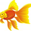 Royalty-Free Stock Vector Image: Golden fish