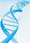 DNA background — Stock Vector