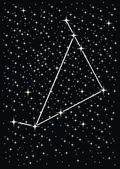 Signe du zodiaque capricorne — Vecteur