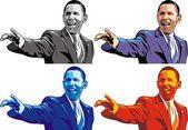 Barack Obama — Stock Vector