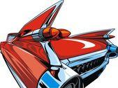 My original sport car design — Stock Vector