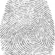 Finger print — Stock Vector #24857651