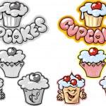 Sweet cakes — Stock Vector #25238393