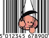 Nice barcode — Stock Vector