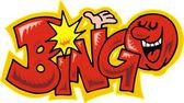 Text bingo — Vettoriale Stock