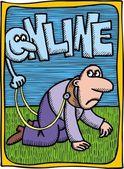 Ilustracja internet — Wektor stockowy