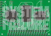 Motherboard background — Stock Vector