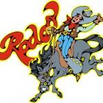 Nice cowboy — Stock Vector #34448077