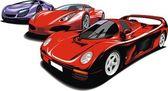 Meu desenho de carros esporte original — Vetor de Stock