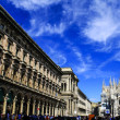 The Cathedral of Milan — Stock Photo