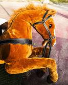 O cavalo de brinquedo — Foto Stock
