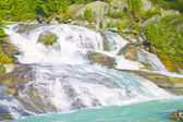 Fantastic waterfall in the Altai Mountains — Stock Photo