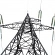 High-voltage tower — Foto de Stock