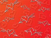 Valentijnsdag — Stockvector