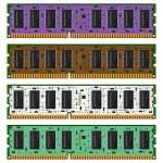 Computer memory — Stock Vector #30946937